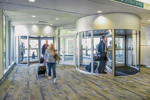 Doors in Control Revolving Door Sensors Error-Free
