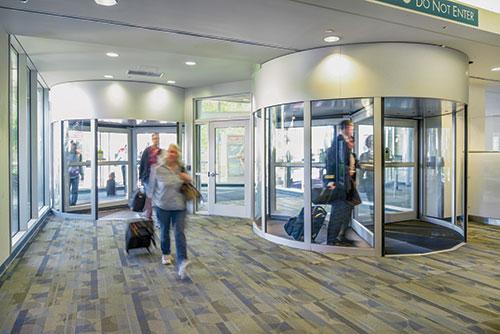 Doors in Control Revolving Door Sensors Error-Free