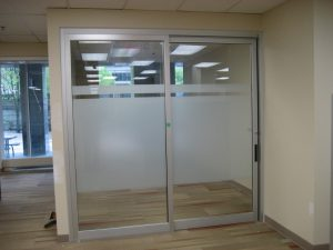 Sliding door in hospital Burlington, London, Ottawa - Sliding Door Systems Ontario