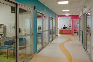 Exist Door in Hospital