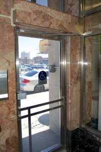 Swing Doors at parking Ontario